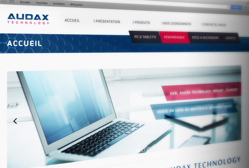 Audax technology website