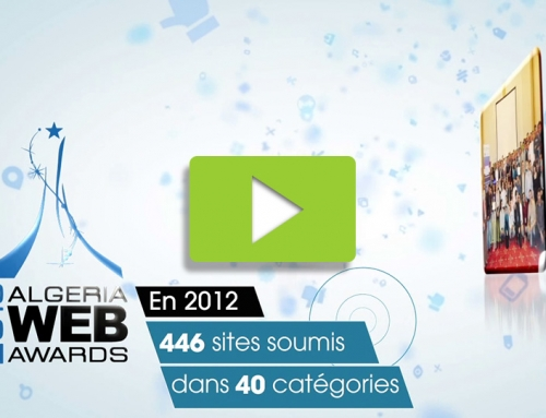 Algeria Web Awards 2013 promo