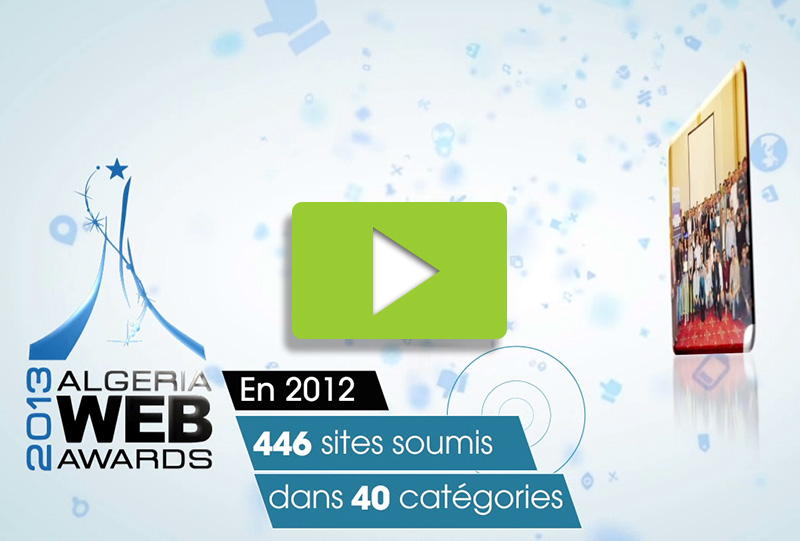 Algeria Web Awards 2013