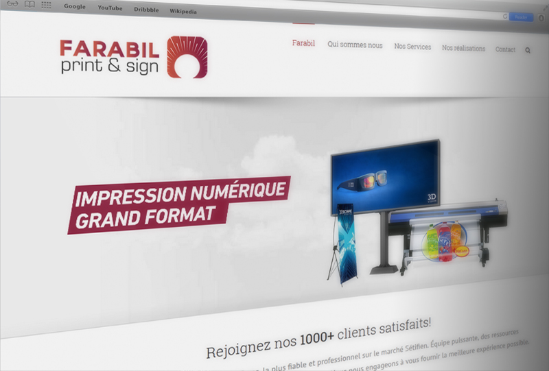 Farabil website 1