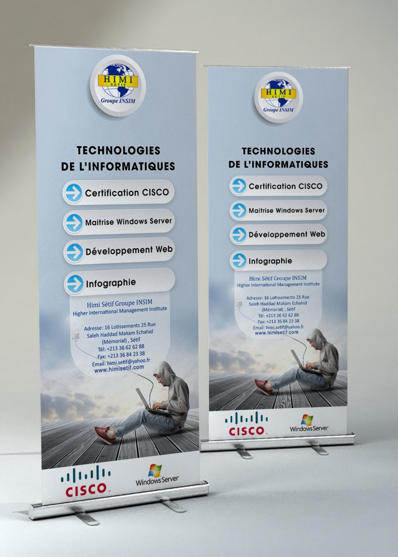 HIMI Roll-Up banner