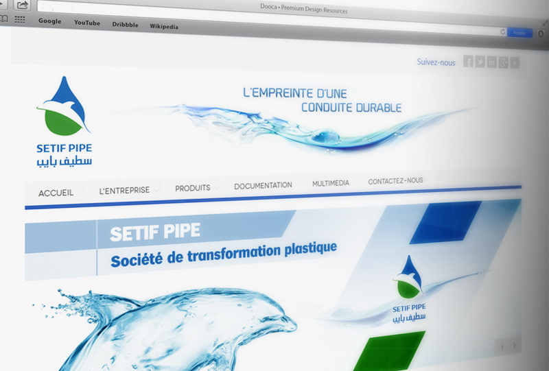Setif Pipe website