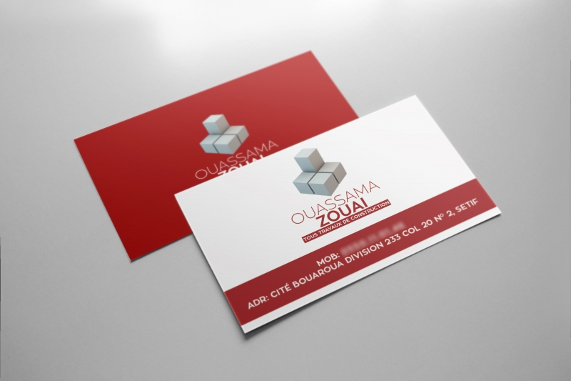 Zouai business card