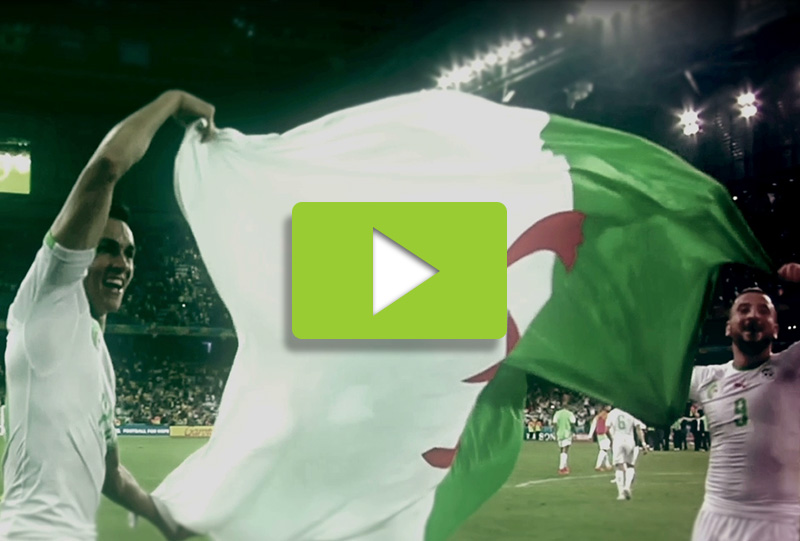 Algeria 2014 world cup best moment